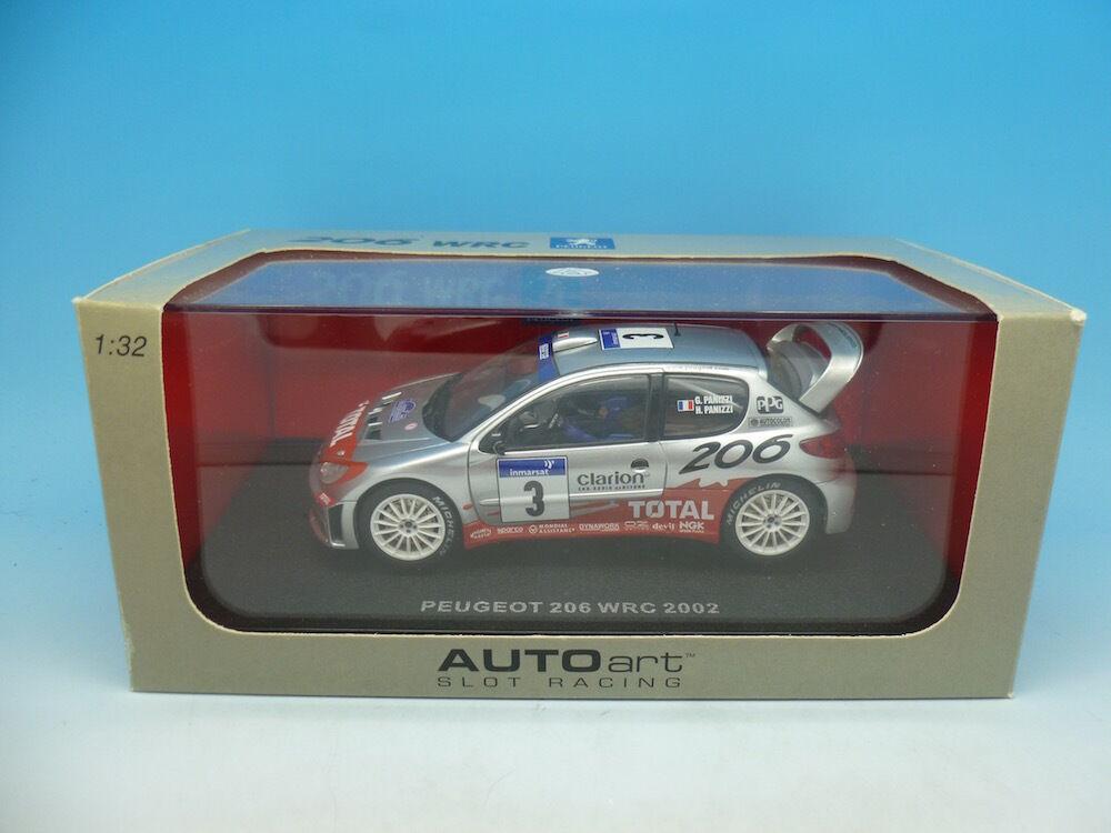 Auto Art 206 WRC 13501 Rally Tour De Corse, mint boxed