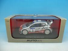 Auto Art 206 WRC Rally Tour de Corse 13501, menta en caja