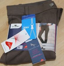 "Crane Ladies Horse Riding Jodhpurs Breeches Brown BNWT Size 30"" Waist"