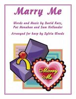 Marry Me Arranged For Harp By Sylvia Woods Harp Book 000150205