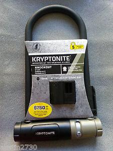 kryptonite u lock 4 x 9 security level 5 new bicycle lock bike ebay. Black Bedroom Furniture Sets. Home Design Ideas