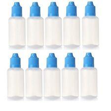 100 pcs 30ml Empty Squeezable Plastic Dropper Bottles Best Eye Dropper Bottle