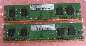 """2 X Infineon Hys64t3200hu-3.7-a 256 Mo Pc2-4200u 1rx4 Ddr2-533mhz Cl4 240-pin Ram-.7-a 256mb Pc2-4200u 1rx4 Ddr2-533mhz Cl4 240-pin Ram"""" Data-mtsrclang=""""fr-fr"""" Href=""""#"""" Onclick=""""return False;"""">afficher Le Titre D'origine Klmwswsu-07183042-537931515"""