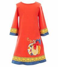 RARE EDITIONS Toddler 3T Thanksgiving Autumn Pumpkin Applique Dress NWT