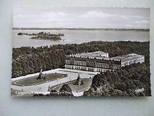 Ansichtskarte Königschloß Herrenchiemsee mit Fraueninsel (IV) Luftbild