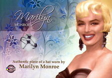 MARILYN MONROE UPDATE 2008 BREYGENT VEILED NAVY BLUE HAT COSTUME CARD MP2 C