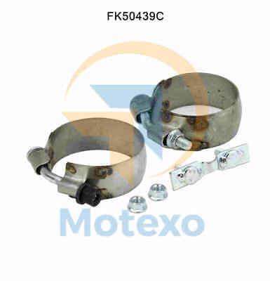 Tubo Scarico Collegamento Fk50439c Kit Di Montaggio Mercedes C200 2.1 1/2011 - 1/2014- Ultima Tecnologia
