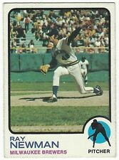1973 TOPPS BASEBALL HIGH #568 RAY NEWMAN 2ND YEAR - VG+/EX-