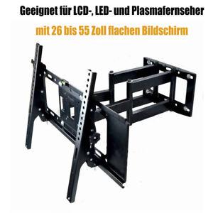 wandhalter wandhalterung schwenkbar neigbar f r 26 55 zoll lcd led tv fernseher ebay. Black Bedroom Furniture Sets. Home Design Ideas