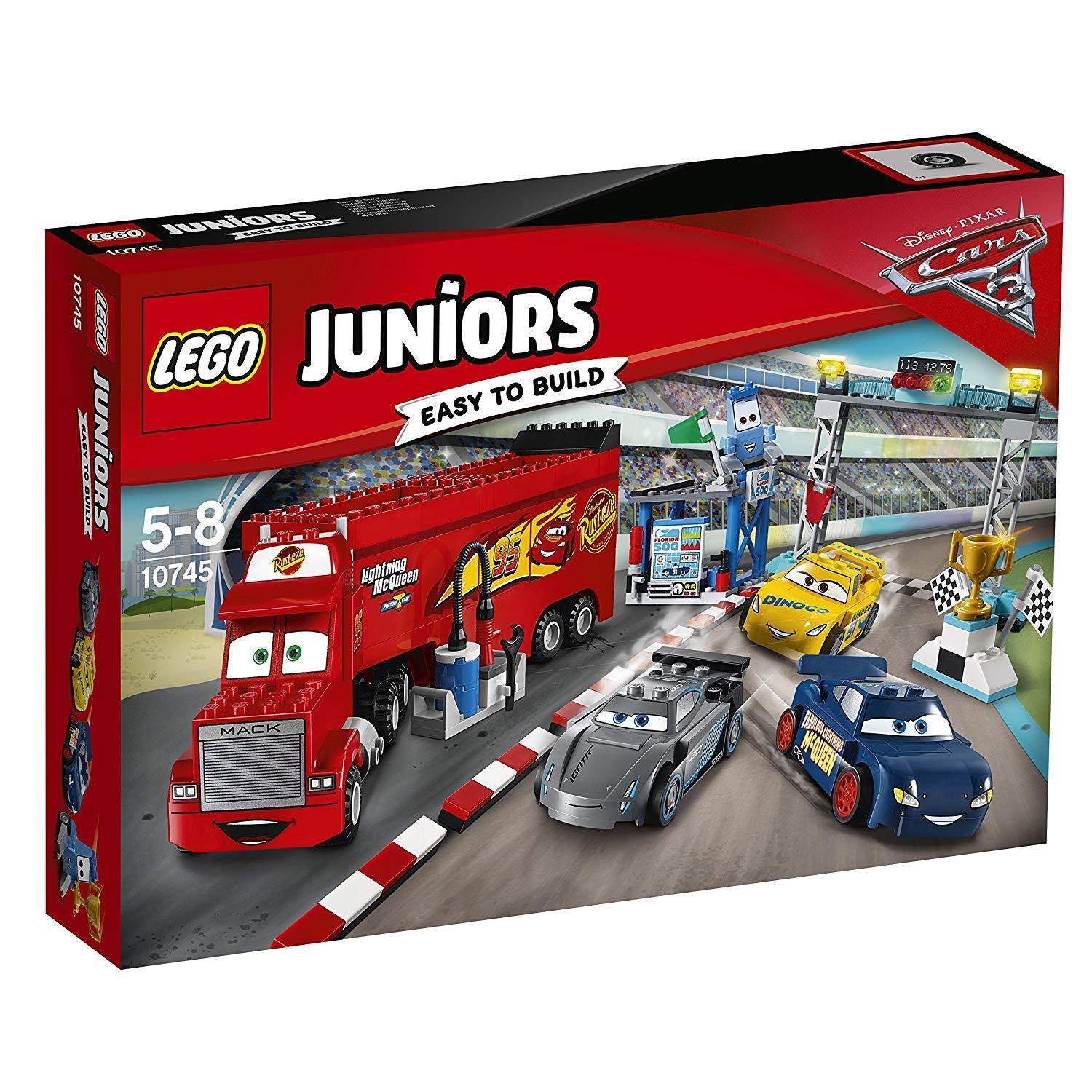 LEGO Juniors 10745 Finale Florida 500  Neu OVP