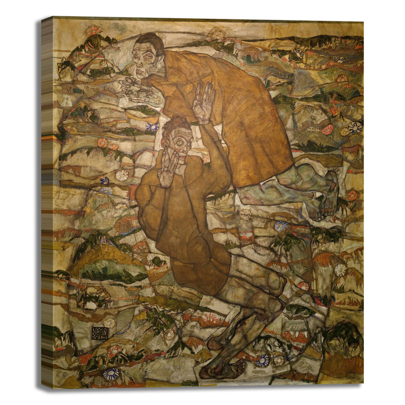Schiele levitazione design quadro stampa dipinto tela dipinto stampa telaio arRouge o casa e3d193