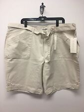 2dcaba50a5a1e item 3 NWT Women s Gloria Vanderbilt Sierra Belted Bermuda Shorts-Twill  Cotton -NWT Women s Gloria Vanderbilt Sierra Belted Bermuda Shorts-Twill  Cotton