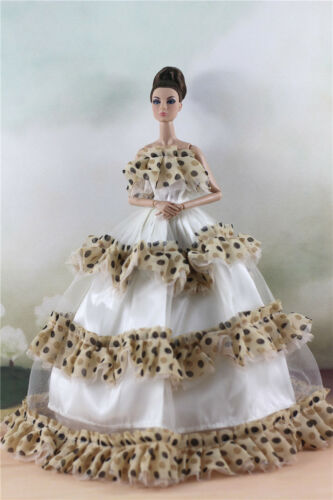 Fashion Party Dress//Wedding Clothes//Gown For 11 in Doll d36