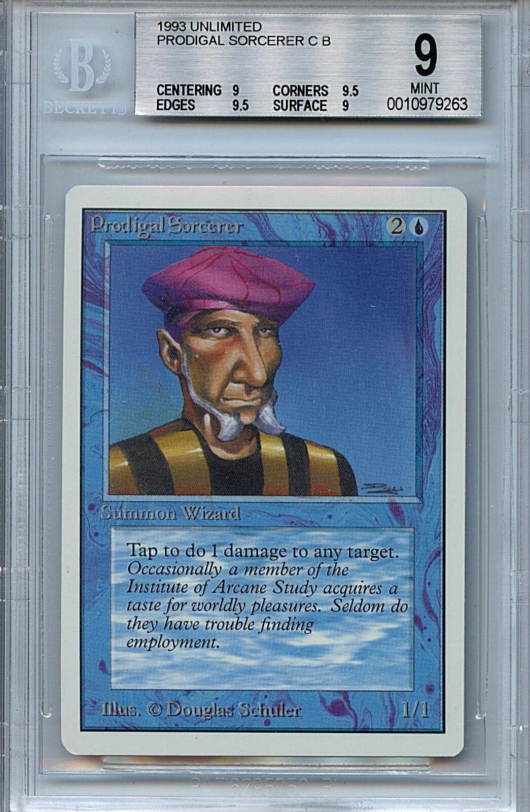 Mtg unbegrenzte abtrnnige zauberer bgs (9), 0 (9) - karte amricons 9263 magie
