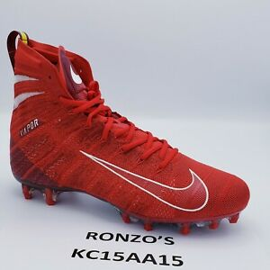 Nike Mens Vapor Untouchable 3 Elite Football Cleats AH7408-600 Red Size 11
