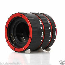Metal Mount Auto Focus AF Macro Extension Tube Ring TTL for Canon EF EF-S Lens