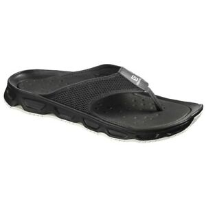 Detalles de Salomon Rx Break 4.0 Chanclas Hombre, Black/Black/Blanco
