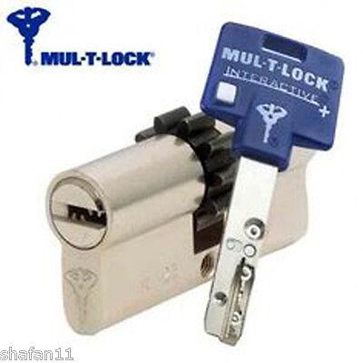 Mul T Lock INTERACTIVE Cylinder Gear 86mm 43+43 Euro Door Key Lock  Locksmith | eBay