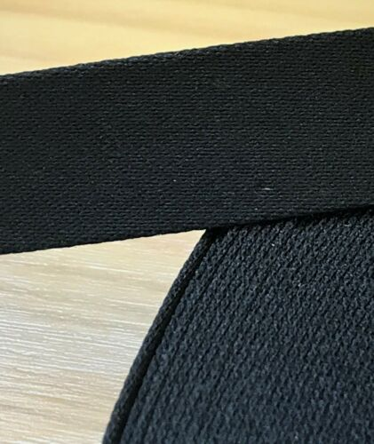 1,5 cm de ancho Helsa Einfassband//planos inclinados banda algodón negro papel 50+ metros