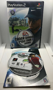 Tiger-Woods-PGA-Tour-2003-Golf-Complete-Tested-amp-Works-Playstation-2-PS2