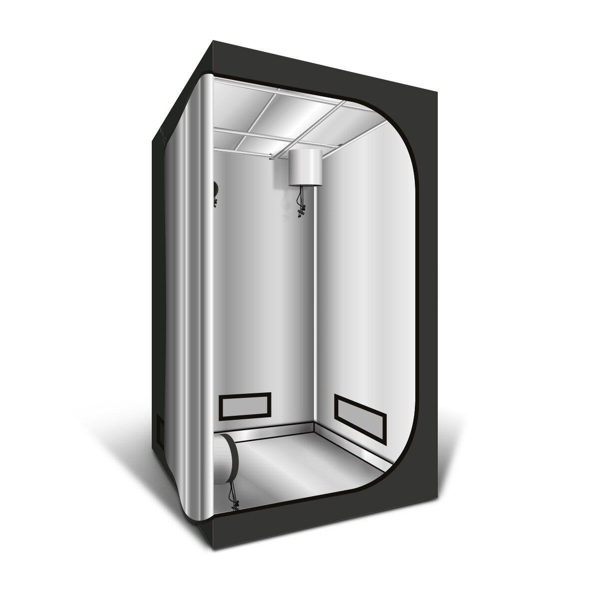 Chambre de culture verdeCube G-Light plata 120x120x200cm Tente de culture Box