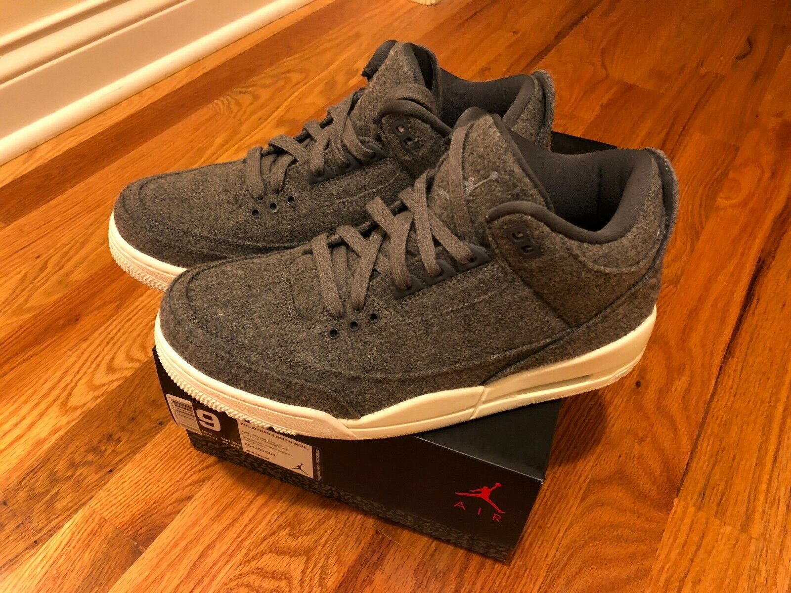 Nike Air Jordan 3 Retro Wool Comfortable The most popular shoes for men and women