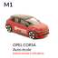 miniature 1 - M1 Opel Corsa M1 Auto école - Majorette 3 inches no norev