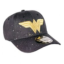 OFFICIAL DC COMICS - WONDER WOMAN SYMBOL GALAXY PAINT STRAPBACK BASEBALL CAP