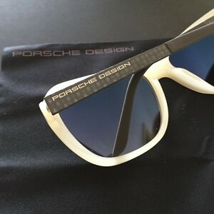 Porsche Design Eyewear P8000 P8558 Women S Rectangular Sunglasses Italy Nwt Box Ebay
