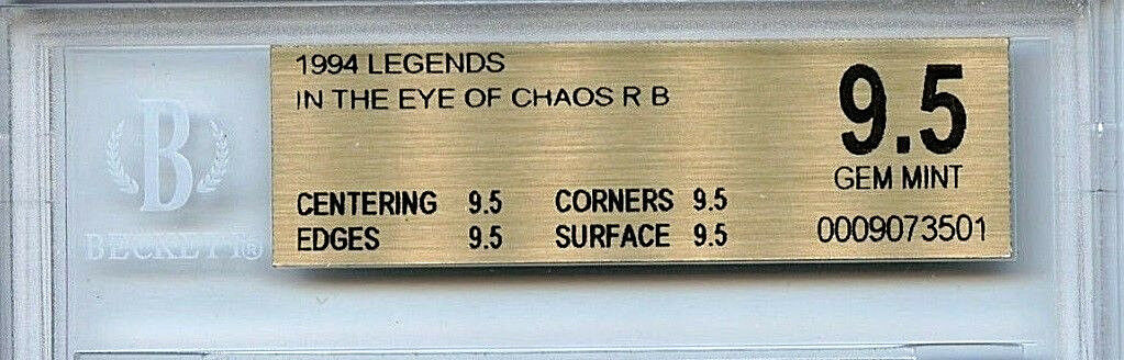 MTG MTG MTG Legends In The Eye of Chaos  BGS 9.5 Gem Mint Magic Card True Quad  3501 cab25e