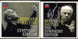 Bernard-Haitink-Signed-Symphony-Edition-36cd-BEETHOVEN-BRAHMS-BRUCKNER-Mahler