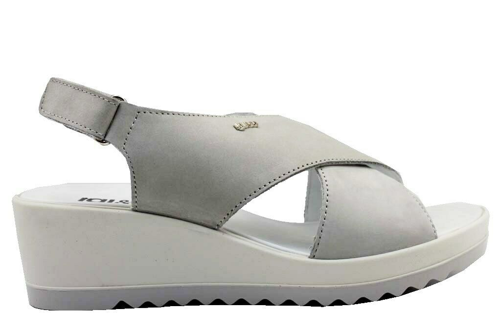 IGI & Co 3172100 Pearl Grey shoes Comfortable Sandals Wedges Woman