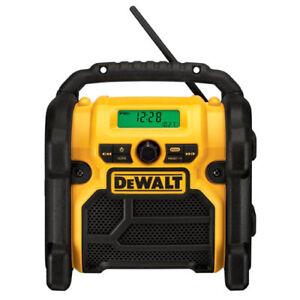 DEWALT 18V/20V MAX/12V MAX Compact Worksite Radio DCR018 Recon