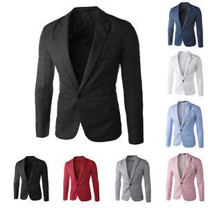 Blazer-Homme-Adultes-Veste-Fashion-Design-Smart-Slim-fit-blazers-Manteau-XS-S-M-L-XL