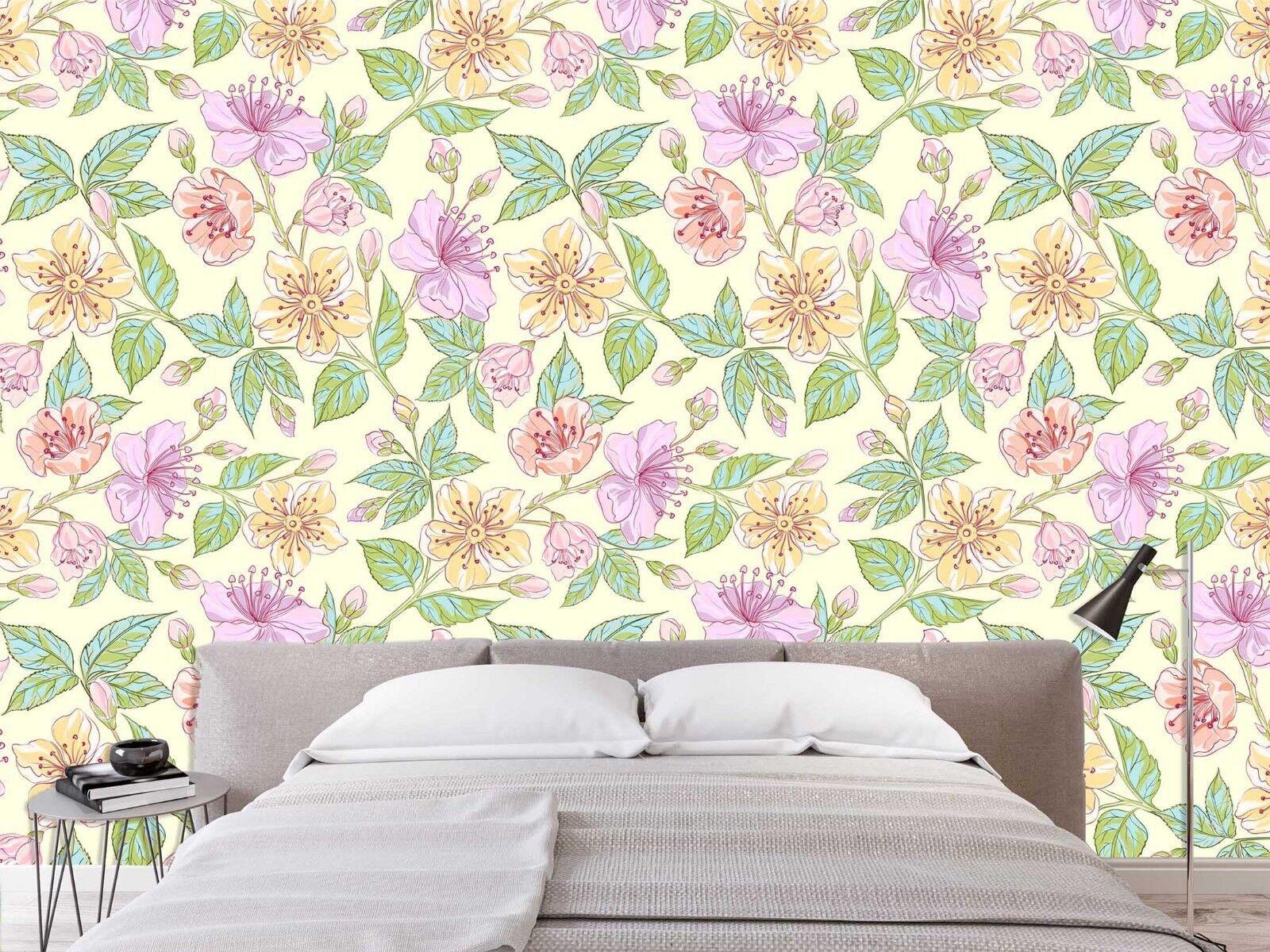 3D Rosa Flower Flower Flower 741 Wall Paper Print Wall Decal Deco Indoor Wall Murals US Summer ccc698