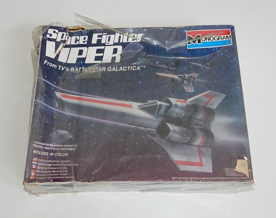slåssstjärna Galactica Sealed modellllerler Kit Monogram Space Fighter Viper R10259