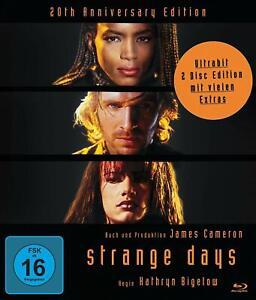 Strange Days - 20th Anniversary Edi. [Blu-Ray + DVD/Nuovo/Scatola Originale] brillanti future-TH