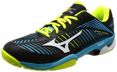 Mizuno Tennis Shoes WAVE EXCEED TOUR 2 OC 61GB1672 Black X white X light green