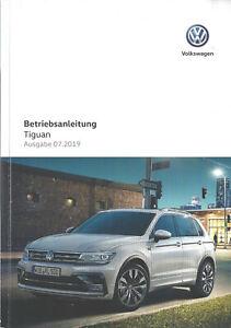 VW-TIGUAN-2-Bedienungsanleitung-2019-Betriebsanleitung-Handbuch-Bordbuch-BA