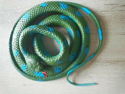 ca 130 CM colore vedi foto NUOVO Serpente gomma STRECH-arrotolato