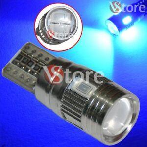 2-LED-T10-HID-6-SMD-Canbus-5630-BLU-Lampade-No-Errore-Xenon-Luci-Posizione-5W