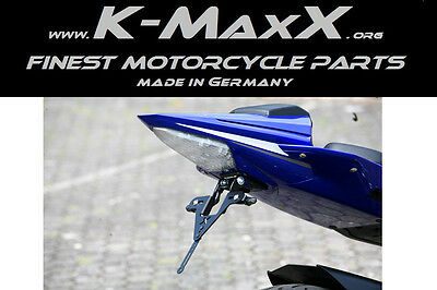 Kennzeichenhalter Nummernschildhalter Yamaha MT-01 von K-MaxX