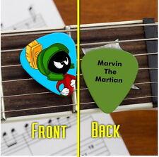 Set of 3 Marvin The Martian premium Promo Guitar Pick Pic