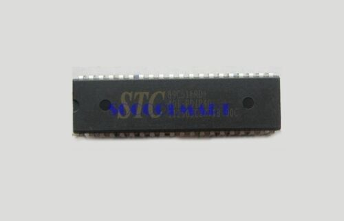 2Pcs Through Hole Single Chip Micyoco SCM STC IC Chips STC89C516RD+40C-PDIP40