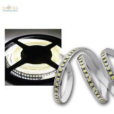 (14€/m) 5m LED Lichtband, 180 SMDs/m kalt-weiß, 12V Streifen, Stripe Leiste Band