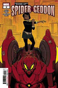Edge of Spider-Geddon #2!  First Mechanical Venom!