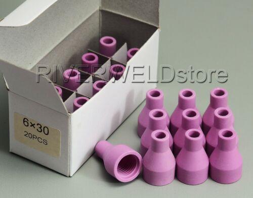 A-1 TIG Alumina Nozzle Cup Fit QQ150A QS-150A TIG Welding Torch 20PK