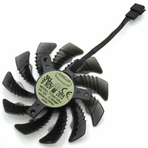 Details about 75mm T128010SU PLD08010S12H 4Pin Cooler Fan For Radeon R9 GTX  960 970 980 Ti GTX