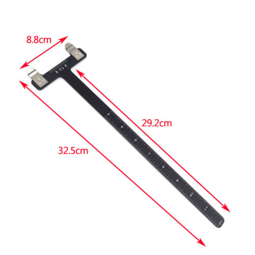 Archery T Square Bow Ruler Tuning Tool Arrow Nocking Points Recurve Compound Bow