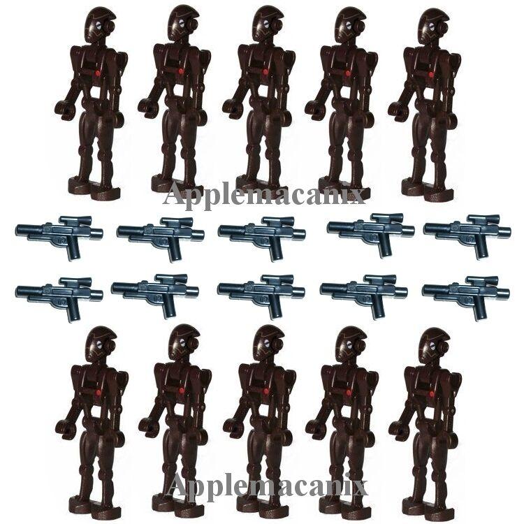 10 nuovo LEGO 75012 9488 estrella  guerras Comuomodo Battle Droid Minicifra cifras w Gun  outlet online economico